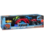 Monster Stunt Trucks 4pk