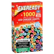 Eveready 1000 LED Chaser Lights - Multicolour