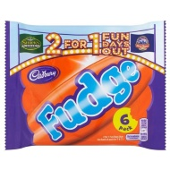 Cadbury Fudge 6pk