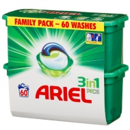 Ariel 3-in-1 Pods - 60 Washes