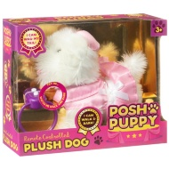 Posh Puppy Remote Control Plush Dog - Pink