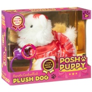 Posh Puppy Remote Control Plush Dog - Red