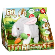 Fifi the Bunny - White & Grey
