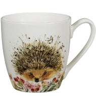Animal Print Mug - Hedgehog