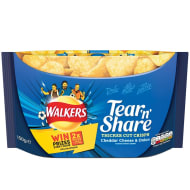Walkers Tear 'n Share Cheddar Cheese & Onion Crisps 150g