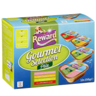 Reward Gourmet Selection Pate Dog Food 12 x 150g