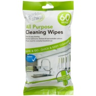 Sparkle & Shine All Purpose Cleaning Wipes 60pk