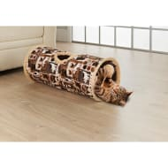 Cat Play Tunnel - Brown