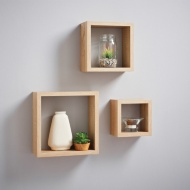 Lokken 3 Cube Shelves