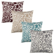 Ferne Floral Damask Cushion Cover 2pk