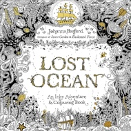 Johanna Basford Colouring Book - Lost Ocean