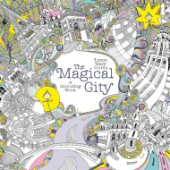 Lizzie Mary Cullen Colouring Book - The Magical City