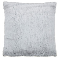 Tasmin Two Toned Shaggy Oversized Cushion - Grey