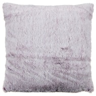 Tasmin Two Toned Shaggy Oversized Cushion - Plum