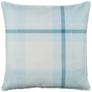 Tara Classic Woven Tartan Cushion - Duck Egg