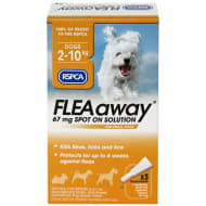 RSPCA FLEAaway Small Dog Flea Treatment 3 x 67mg