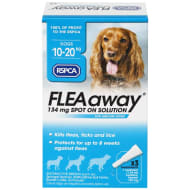 RSPCA FLEAaway Medium Dog Flea Treatment 3 x 134mg