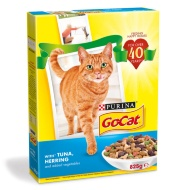Go-Cat Cat Food - Tuna, Herring & Vegetables 825g