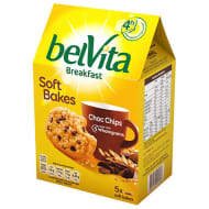 Belvita Breakfast Soft Bakes - Chocolate Chip 5pk