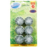 Freshclean Toilet Blocks 6pk - Citrus Zest