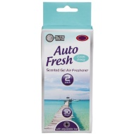 Auto Tech Auto Fresh Scented Gel Air Freshener - Ocean Breeze 2pk