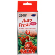 Auto Tech Auto Fresh Scented Gel Air Freshener - Berry 2pk