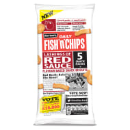 Burtons Daily Fish 'n' Chips Red Sauce 5pk