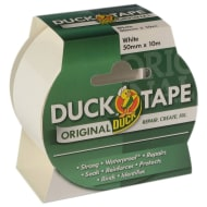 Duck Tape Original 50mm x 10m - White
