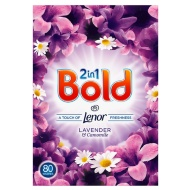 Bold 2-in-1 Washing Powder 80W Lavender & Camomile