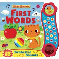 Mega Sounds Book - First Words