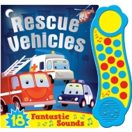 Mega Sounds Book - Rescue Vehicles