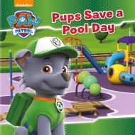 Paw Patrol Story Book - Pups Save a Pool Day