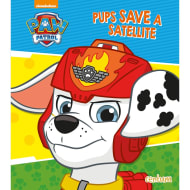 Paw Patrol Story Book - Pups Save a Satellite