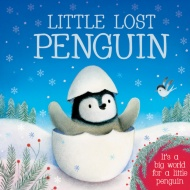 Mini Board Book - Little Lost Penguin