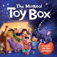 Mini Board Book - The Magical Toy Box