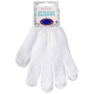 Exfoliating Bath Glove - White