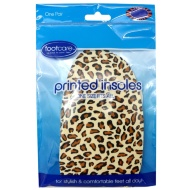 Printed Insoles - Leopard