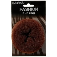 Hair Bun Ring - Brown