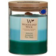 Woodland Wick Layered Candle - Melon