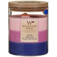 Woodland Wick Layered Candle - Rose