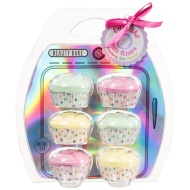 Beauty Bake Cupcake Fizzers 6pk - Strawberry, Lime & Banana