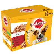 Pedigree Dog Food in Jelly 12pk