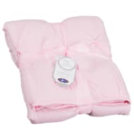 Oversized Baby Pintuck Quilt - Pink