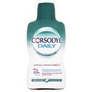 Corsodyl Daily Mouthwash 500ml - Fresh Mint