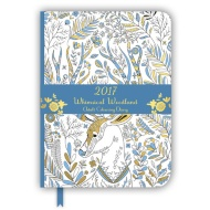 Adult Colouring Diary 2017 - Whimsical Woodland