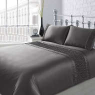 Karina Bailey Sienna Rouche Duvet Set Double