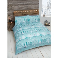 Leaping Stag Brushed Cotton Duvet Set King Size