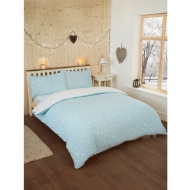 Starburst Brushed Cotton Duvet Set Double