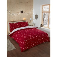 Starburst Brushed Cotton Duvet Set Single