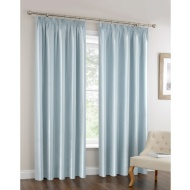 Oxford Stripe Fully Lined Curtain 46 x 72